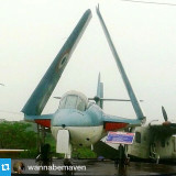 #Repost from @wannabemaven  Naval Aviation #Museum #Goa has 13 decommissioned aircrafts on display. This decommissioned #aircraft looked like a giant #toy. Read my full post on Naval Aviation Museum Goa on my #blog.photo: @dnoella #travel #travelpics #ind