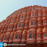 #Repost from @pastlifeseamstress  #hawamahal in #pinkcity #jaipur aka #palaceofwinds captured while driving by it. The latest and last post from #indiadiaries #rajasthan #indiatravel is on pastlifeseamstess now! #lifeintravel #bloggerslife #indianblogger